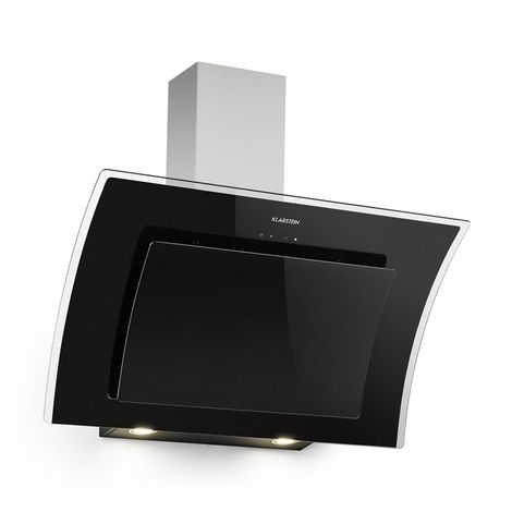 Klarstein Sabia 90 Cooker Hood 90cm 600m³ / h LEDs 3 Power Levels Black