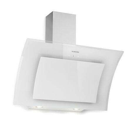 klarstein Sabia 90 hotte aspirante 90cm 600m³/h LED 3 vitesses blanche