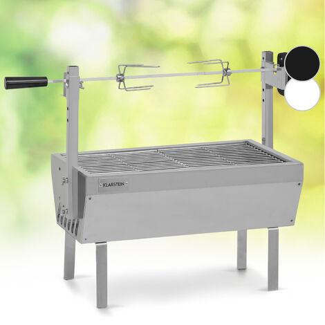 Padella Barbecue Rostiera Cottura Verticale di Pollo e Volatili Girarrosto 30cm