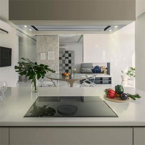 Klarstein Secret Service campana extractora 220W 3 niveles de potencia LED acero inoxidable