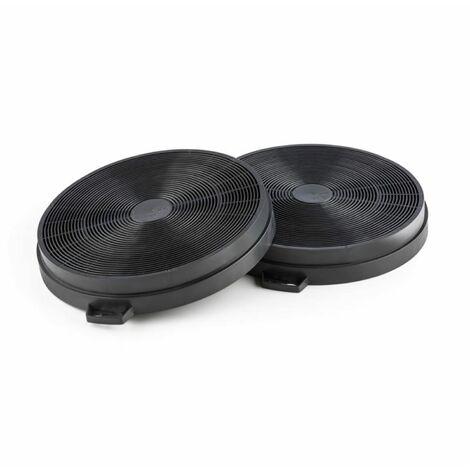 Klarstein Set de 2 filtres à charbon actif pour hotte aspirante