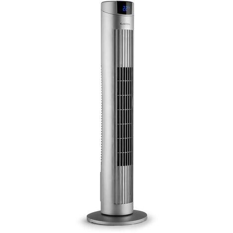 Klarstein Skyscraper 2G Ventilateur colonne 40W Panneau tactile Télécommande argenté