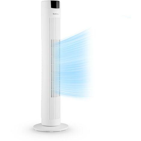 Klarstein Skyscraper 2G Ventilateur colonne 40W Panneau tactile Télécommande - blanc