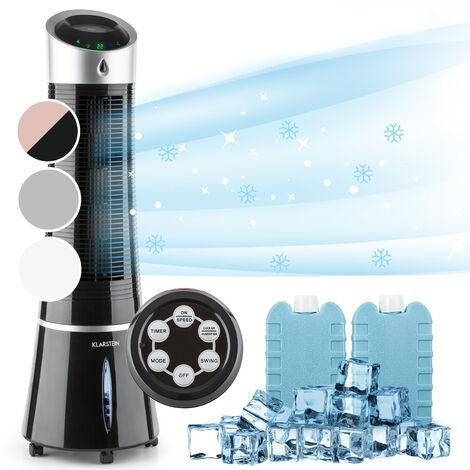 Klarstein SkyscraperIce 4-in-1 Luftkühler Ventilator Luftreiniger Luftbefeuchter