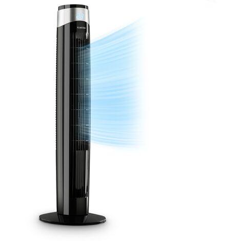 Klarstein Storm Tower ventilateur 3 types de vent 55 W 6 vitesses noir