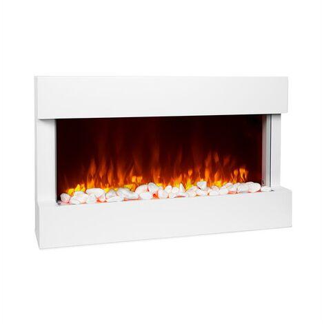 Klarstein Studio 1 Electric Fireplace 1000 / 2000W LED 10-30 ° C Weekly Timer
