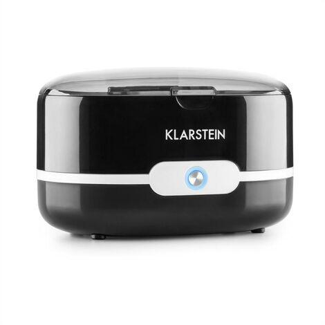 Klarstein Superpure Nettoyeur ultrason pour lunettes et bijoux - noir