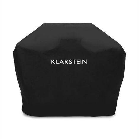 Klarstein Tomahawk 3.1 S Wetterschutzhaube 300D Canvas 30/70% PE/PVC schwarz