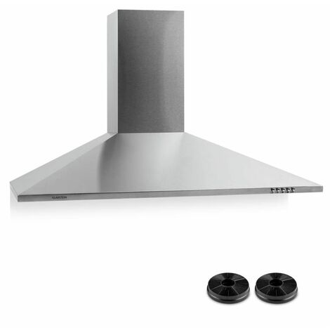 Klarstein TR90WS Extractor Hood With Activated Charcoal Filter