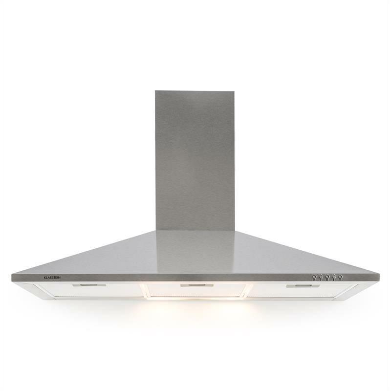 Klarstein TR90WS Filter 3 cappa da cucina 90cm 340m³/h Classe E