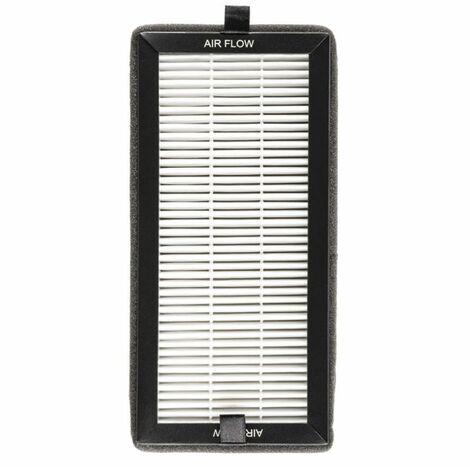 Klarstein Tramontana filtre HEPA de rechange accessoire pour purificateur d'air 10x21cm