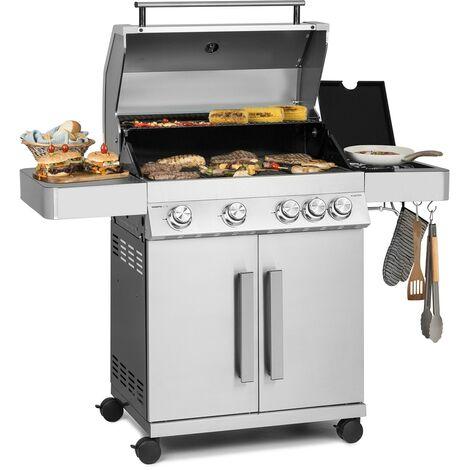 fornello lateral Barbecue a gas Campingaz XPERT 200 LS Rocky con forno griglia