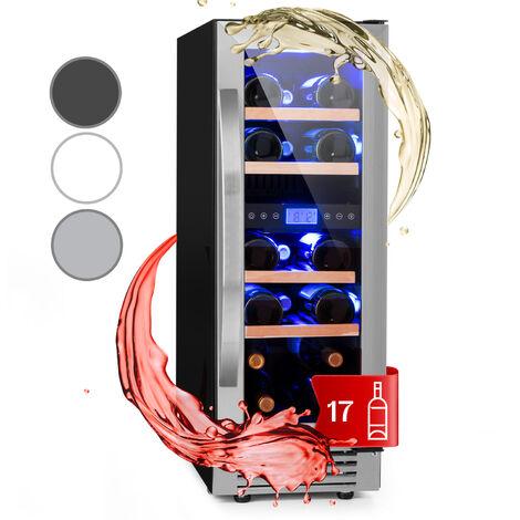 Klarstein Vinovilla Duo17 Two-zone Wine Refrigerator 53l 17 Bolttles 3-colour Glass Door