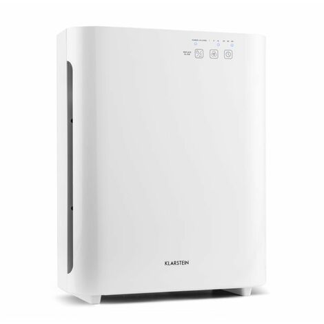 Klarstein Vita Pure 2G Air Purifier 5 x Filter 55W UV-C Touch White