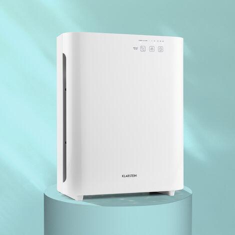 Klarstein Vita Pure 2G Purificador del aire Ionizador Filtro quíntuple 55W UV-C Táctil Blanco