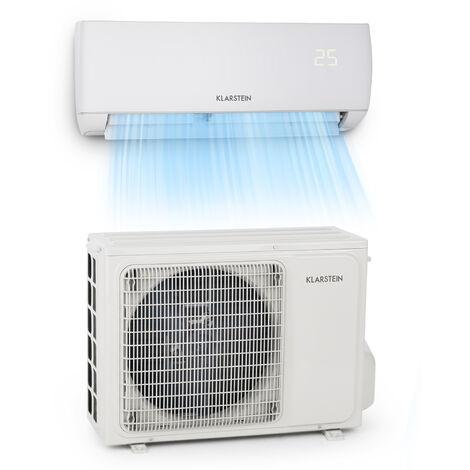 klarstein Windwaker climatiseur split 9000 BTU/2,7 kW débit d'air 600 m³/h