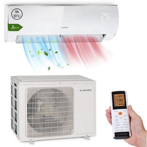 Klarstein Windwaker Eco climatiseur split 9000 BTU/2,7 kW 610 m³/h max. A++
