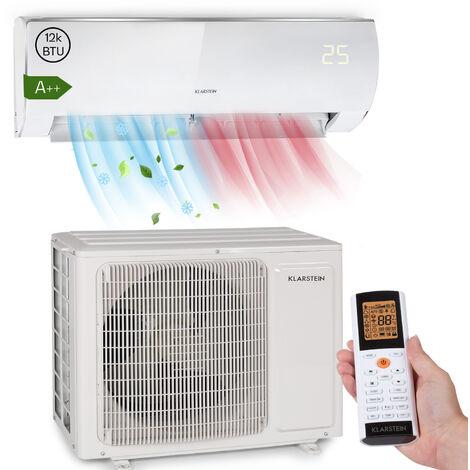 Klarstein Windwaker Eco Split-Klimaanlage 12.000 BTU/3,5 kW 680 m³/h max. A++