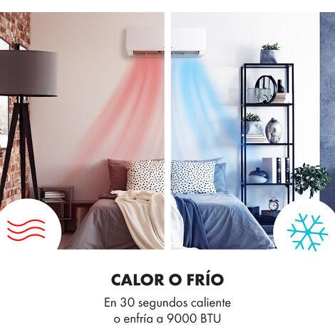 Sala con climatización