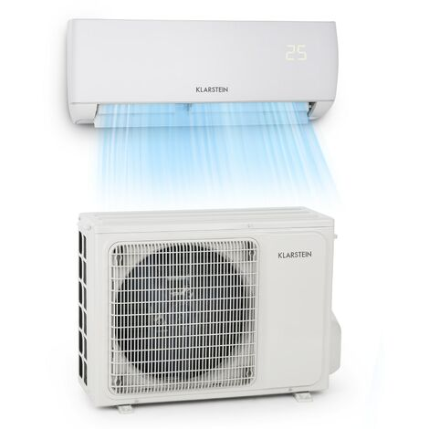 Klarstein Windwalker Smart climatiseur split 12000 BTU/3,6 kW débit d'air 600 m³/h