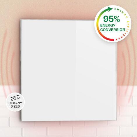 Klarstein Wonderwall 36 Infrared Heater 60x60cm 360W Weekly Timer IP24 White