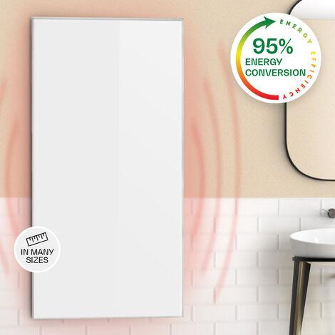 Klarstein Wonderwall 72 Infrared Heater 60x120cm 720W Weekly Timer IP24 White