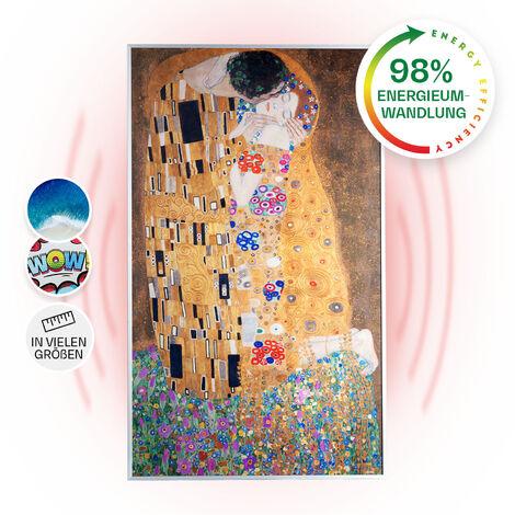 Klarstein Wonderwall Air Art Kiss 60 Infrared Heater 60x101cm 600W Wall Installation