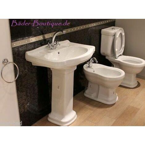 Klassico Nostalgie Stand Kombi WC mit Waschbecken in verschiedenen Ausführungen