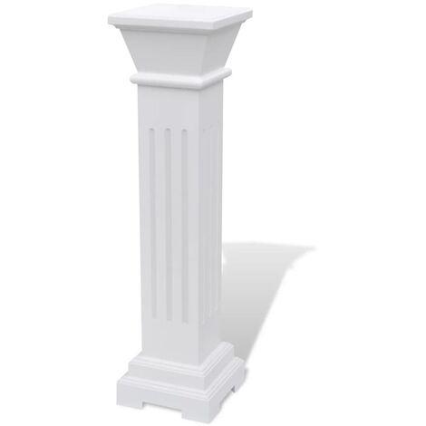 Klassischer Quadratischer Säulen-Pflanzenständer MDF