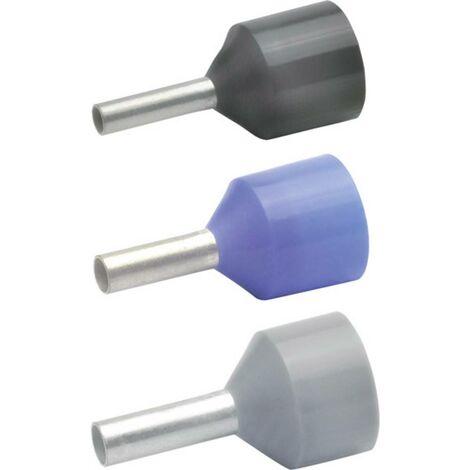 Klauke 43712 Embout simple dextrémité de câble 16 mm² partiellement isolé bleu 100 pc(s)