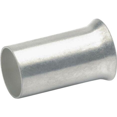 Klauke 7712 Embout simple dextrémité de câble 16 mm² non isolé argent 100 pc(s)