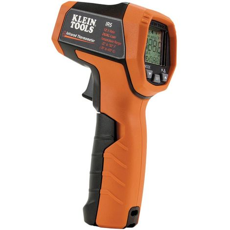 Klein Tools IR5 Termometro a infrarossi Ottica 12:1 -30 fino a 400 °C