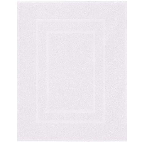 Kleine Wolke Alfombra de baño Plaza blanco 60x80 cm