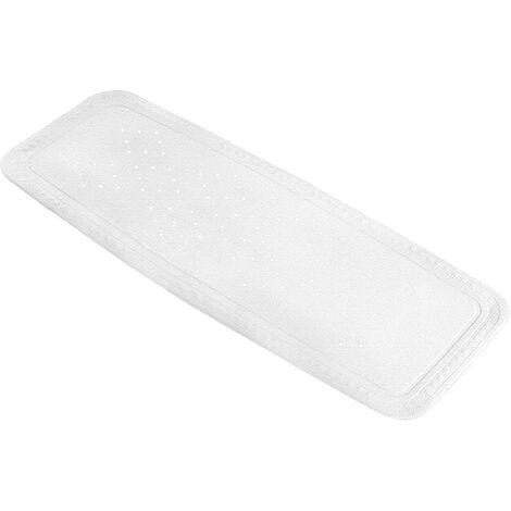 Kleine Wolke Non-slip Bath Mat Arosa 36x92cm White