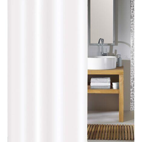 Kleine Wolke Shower Curtain Phoenix 180x200 cm White