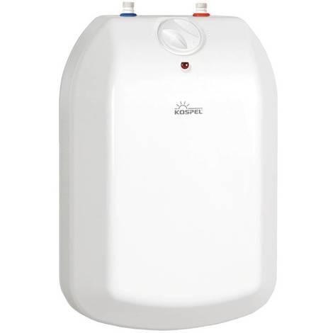 Kleinspeicher Untertisch 5 Liter 2000 W Warmwasserspeicher für Küche, Boiler druckfest Kospel POC.D-5 Luna inox