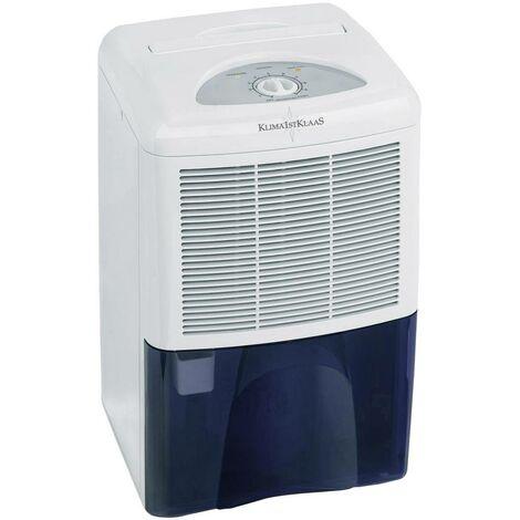 Klima1stKlaas 5006 Luftentfeuchter 30m² 260W 0.42 l/h Weiß, Blau S39888