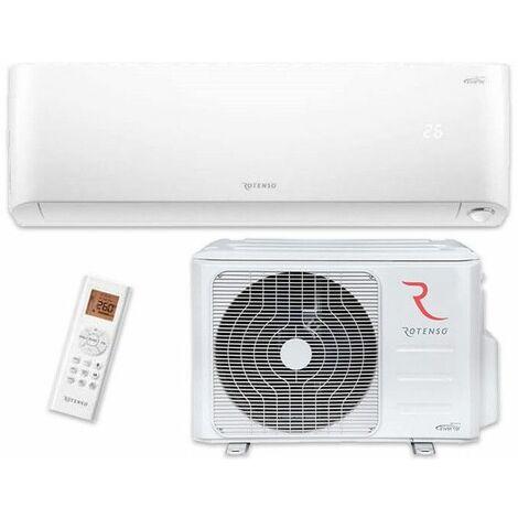 Klimagerät Klimaanlage A+++ R32 Klima 3,5kW 230V Kühlen/ Heizen Split Anlage Montagehaken