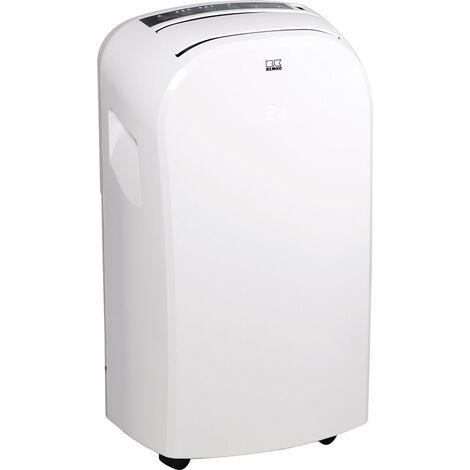 Klimagerät MKT 255 ECO 2,6 kW 2,5 l/h weiß 80 m³ REMKO