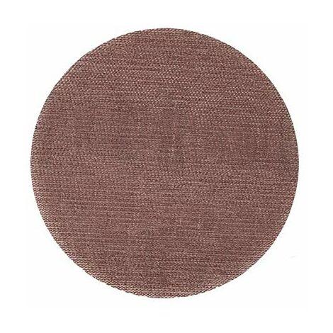 Klingspor 337898 Disques avec Soporte Velcro/Papier quadrillé abrasif, AN 400, 125 mm de diamètre, 80 Grain