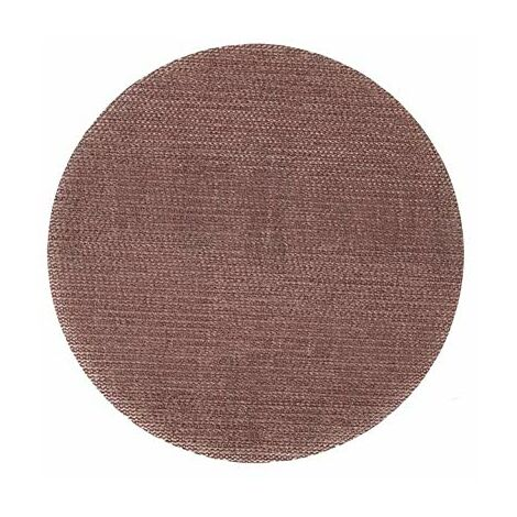 Klingspor 337904 Disques avec Soporte Velcro/Papier quadrillé abrasif, AN 400, 125 mm de diamètre, 240 Grain