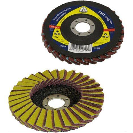 5x Klingspor Flap disc 115X22,23 K120