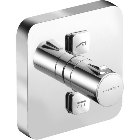 KLUDI PUSH concealed thermostatic shower mixer (388110538)