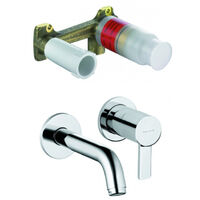 Kludi ZENTA - Installation set for Concealed Two Hole Wall Mounted Basin MIXER + Installation Set DN 15 (382450575-set)