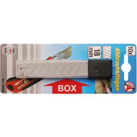 Km Klingen für Cuttermesser | 18 mm | 10-tlg.