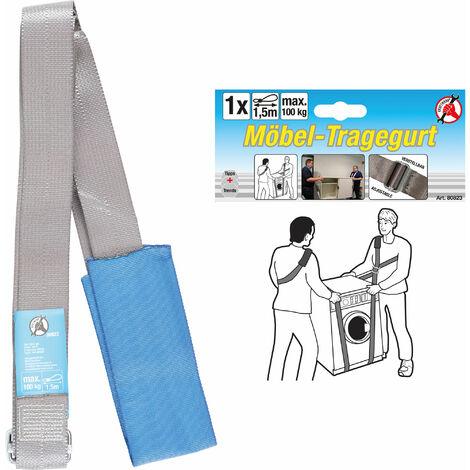 Km Tragegurt für Möbel | verstellbar | 100 kg