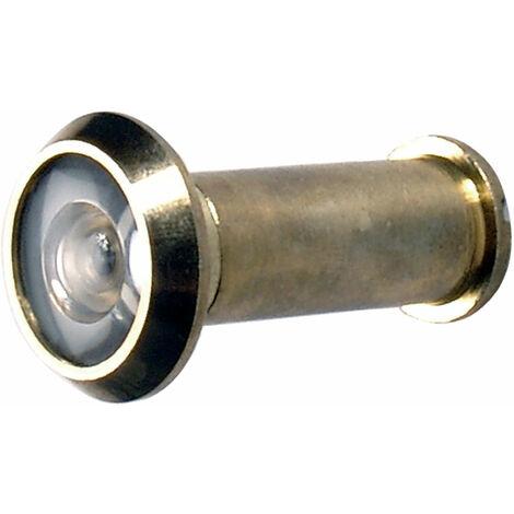 Km Türspion | Messing poliert | Ø 14 mm