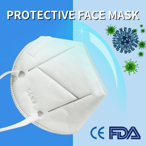 KN95 Mask Face Mask N95 Work Protection Flu Mask Anti-Dust Respirator