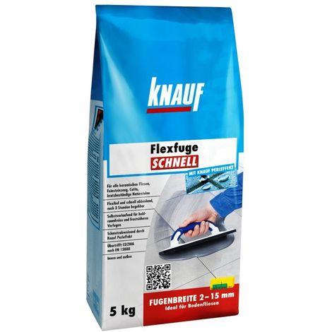Knauf Flexfuge schnell basalt, 5 kg