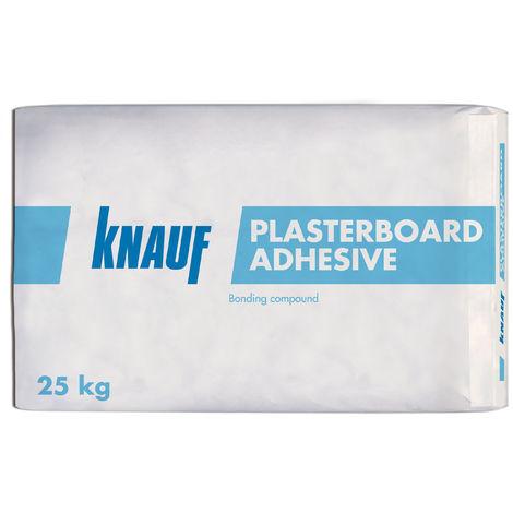 Knauf Plasterboard Adhesive Bonding Compound 25kg Off White